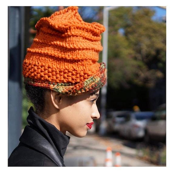 Crochet Cap. Loc Hat. Dreadlock Hat. Knit Hat.  Ta Ankh.