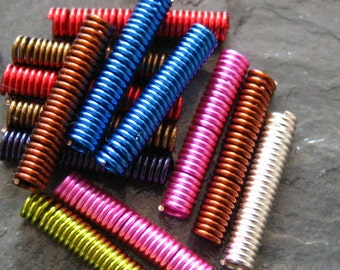 Straight Wire Coils Your Choice of Color Quantity 6