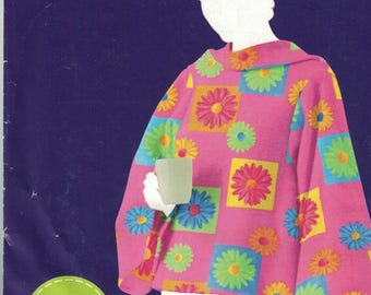 Simplicity 2008 Womens  Cape or Poncho One SizeUNCUT