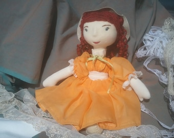 Maud, a Waldorf inspired, Victorian dressed doll