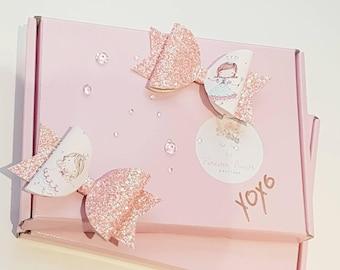 Princess fairies hair bows