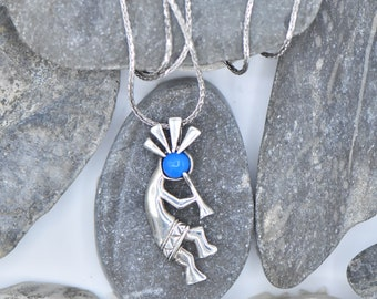 Sterling Silver Aztec Turquoise necklace