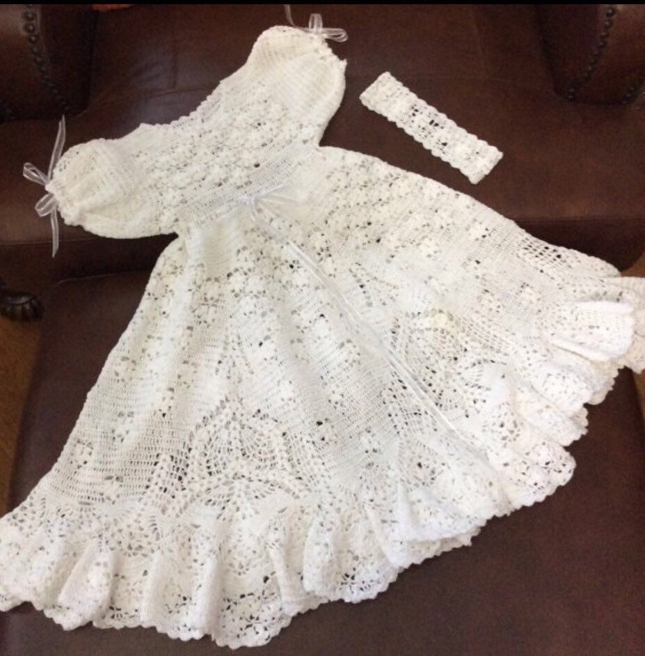 Nice Baptism Gown Patterns Vignette - Wedding and flowers ispiration ...