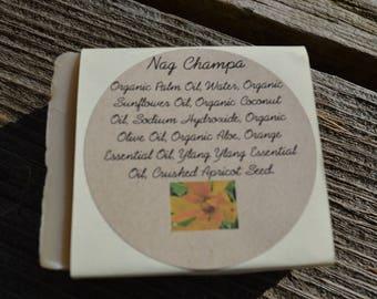 Nag Champa Olive Oil Soap