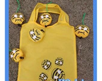Bumble Bee Reusable Tote Bag