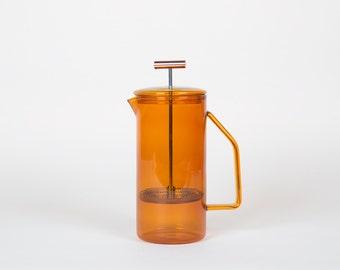850 mL Glass French Press - Amber