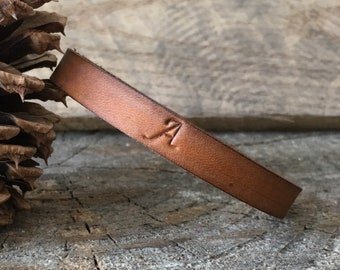 Leather Bracelet Personalized, Leather Bangle Bracelet Personalized, Leather Bangle Bracelet, Leather Bracelet, Leather, You Choose Color
