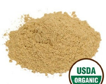 Licorice Root POWDER, Organic 1 or 8 oz
