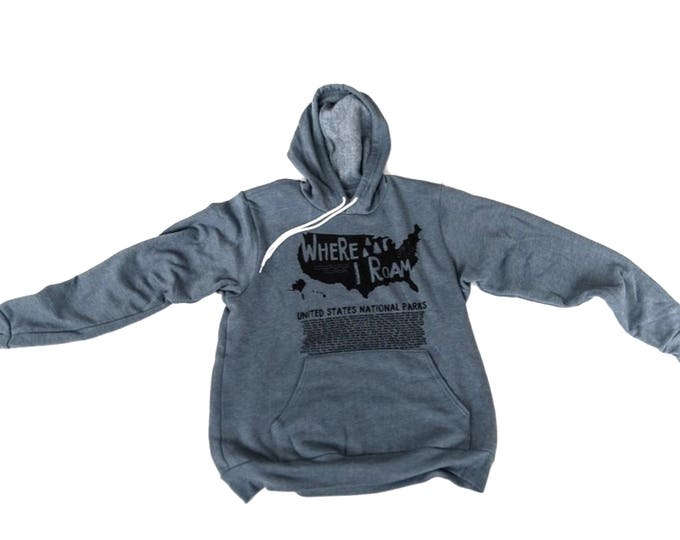 Explore America Sweatshirt hooded sweatshirt National Parks Sweatshirt, National Parks, Outdoor Explorer