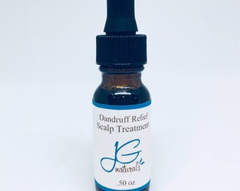 Natural Dandruff Relief Scalp Oil