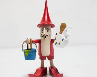 small wooden figure figure toymaker Erzgebirge Ore Mountains