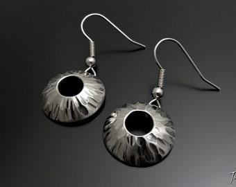 Water Domed Earrrings