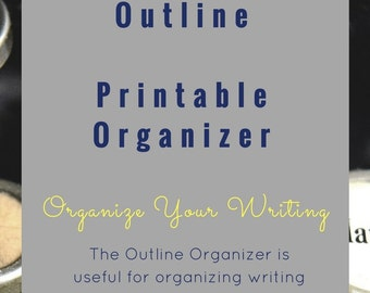 Outline Printable Graphic Organizer