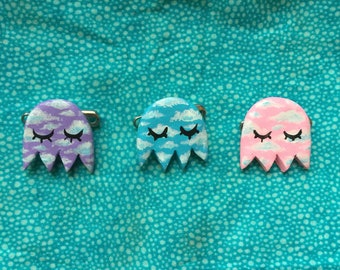 Chill Ghost Brooches