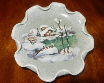 ITALY HAND PAINTED Bowl