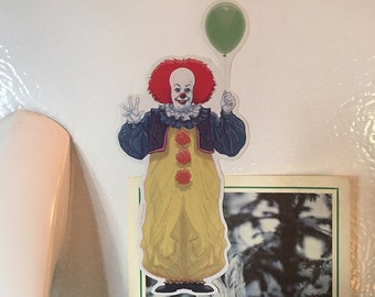 IT Pennywise Clown FRIDGE MAGNET!
