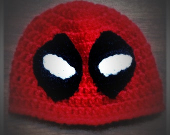 Deadpool Inspired Baby Hat