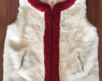 M Fake Fur Vest
