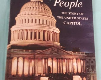 Vintage Book Capitol of USA We, The People 1965 History