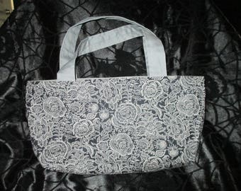 Flower and Skull Purse