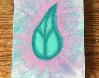 Raindrop Peace Painting