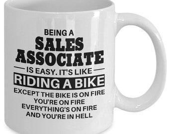 Sales Associate, Sales Associate Mug, Sales Associate Gift, Sales Associate Coffee Mug, Mug for Sales Associate, Gift for Sales Associate