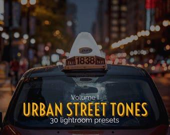 Urban Street Tones (Volume I) Lightroom Presets - Professor Hines' Choice