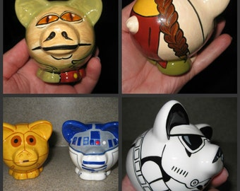 Star Hogs Ceramic Mini Pig (Made to Order)
