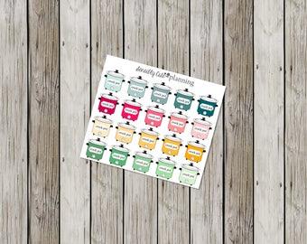 Crock Pot Planner Stickers