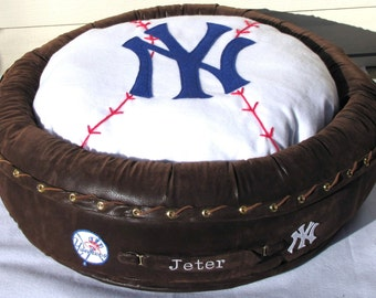 Custom Sports Team Tribute Pet Bed