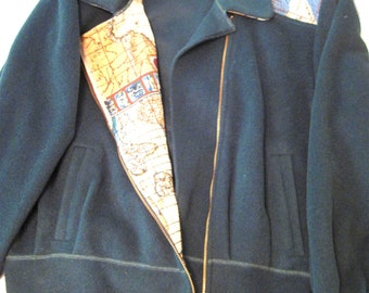 Vintage Merle of Chicago Tapestry Jacket