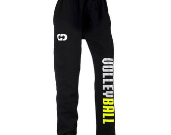 Volleyball UNISEX Sweatpants Youth and Adult Sizes 6SMQA0v