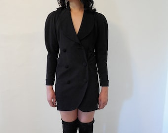 Very Jacquemus vomunous sleeve, wool, ann taylor vintage dress