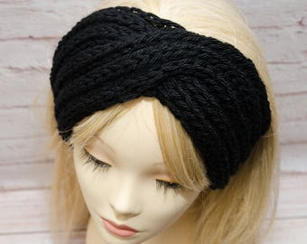 knit headband ear warmer headband winter headband knit ear warmer turban headband womens headband knitted ear warmer knit headbands chunky