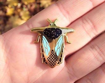 Beetle // Bug II enamel pin // insect enamel pin // Hard Enamel // Badge // Brooch