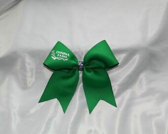 Dinna Fash Outlander Inspired Cheer Bow Hair Bow Clip