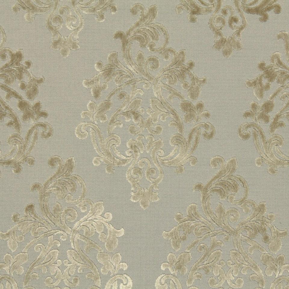 Silver Grey Damask Velvet Fabric for Furniture Upholstery for Beige Velvet Fabric Texture  186ref