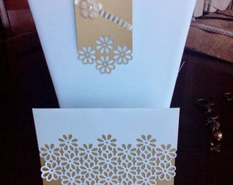 Blank Note Card Set with Matching Gift Tags -- Item 2018-66