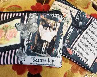Scatter Joy Coin Purse -- Free Shipping