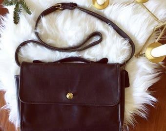 SALE | Vintage COACH black leather bag