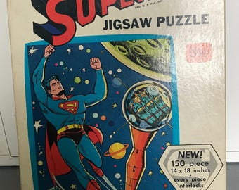 1966 Superman Jigsaw Puzzle