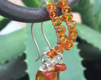 Amber/Sterling ear drops