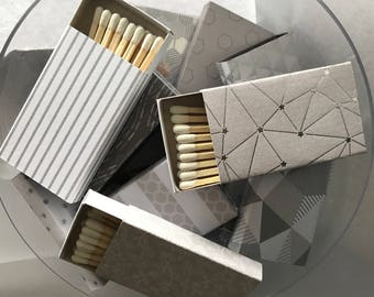 Decorative Matchboxes - Silver Collection