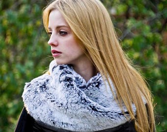 Tissavel Faux Fur Infinity Scarf - More Colors