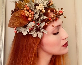 Woodland Crown Headdress