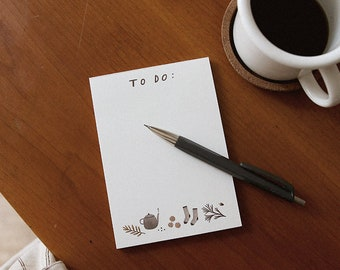 to do. notepad // daily planner // to do list // daily notepad