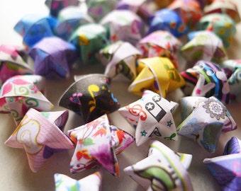 Assorted Origami Stars - Wishing Stars Confetti/Gift fillers/Home Decor