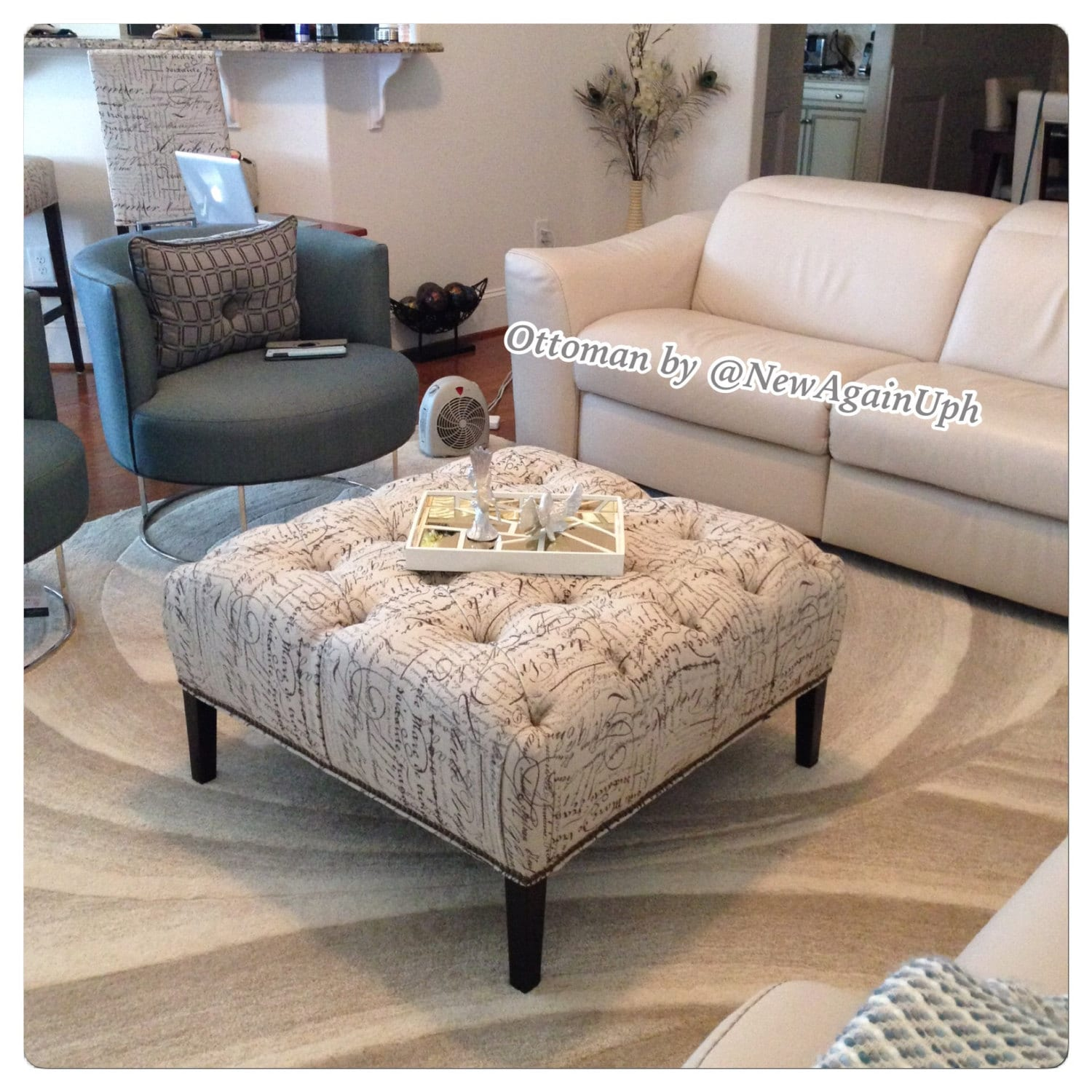 seating home your with ottoman for table tufted bench to coffee large create cocktail white favorable ways overwhelming round