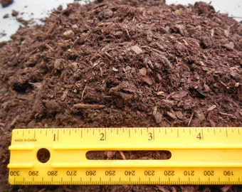 3.5 Gal. Aged Fine Fir Bark for Bonsai / Succulent / Cactus and Seed Starting Soils