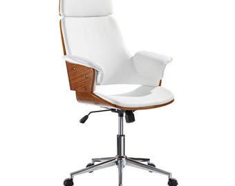 Merveilleux Office Chair, Modern Chair, Modern Office Chair, Wood Chair, Modern Wood  Chair, Wood Office Chair, Desk Chair, Office Furniture, Vintage.